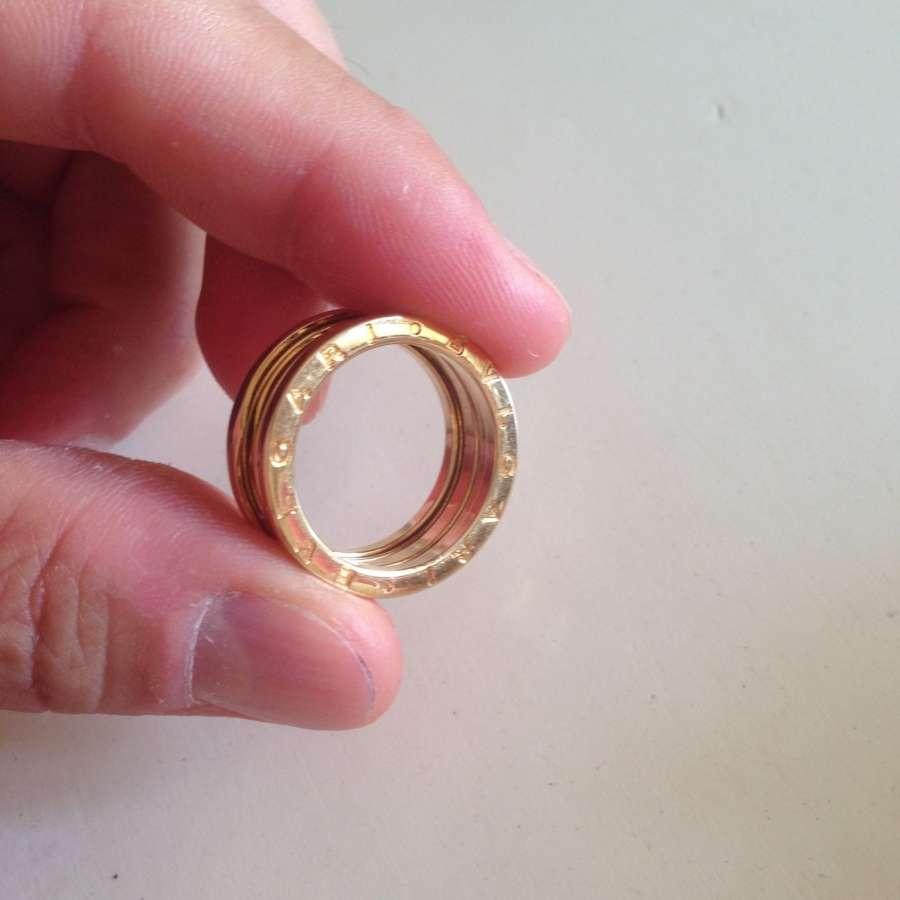 a basso prezzo 36478 21147 Anello Bulgari B.zero 1 oro giallo 3 fasce € 850,00 ...