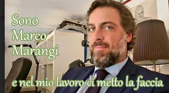 Marco Marangi titolare di Marangi Compro Oro Roma